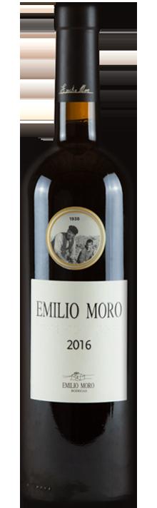 foto de botella de vino emilio moro 2016