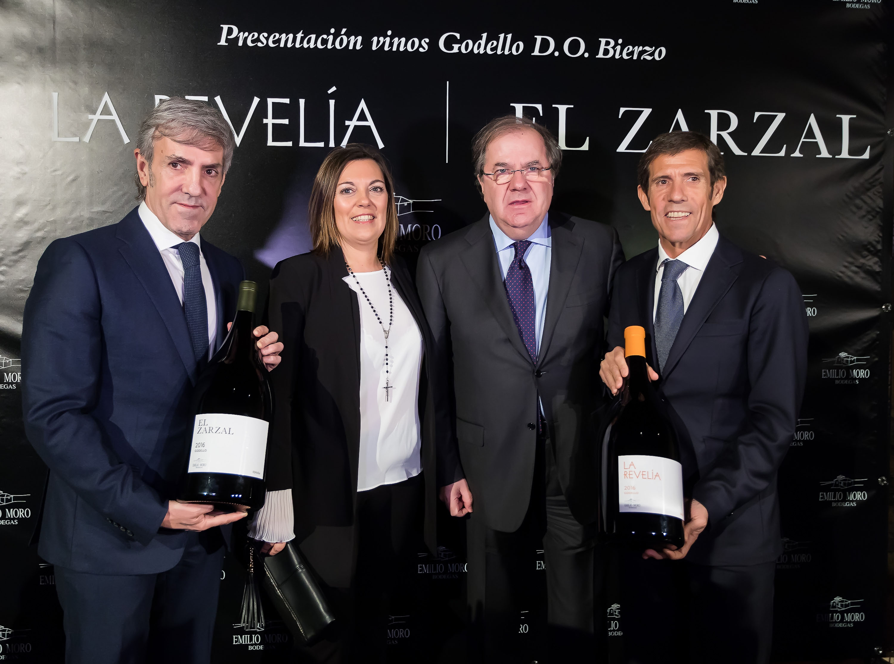 BODEGAS EMILIO MORO PRESENTED YESTERDAY ITS FIRST GODELLO WHITES UNDER THE ORIGIN DENOMINATION BIERZO